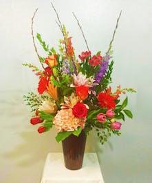 Large Mixed Floral Arrangement