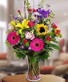 Mixed Summer Floral Bouquet