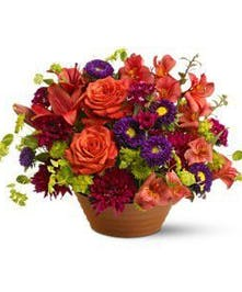 Assorted Autumn Floral Arrangement