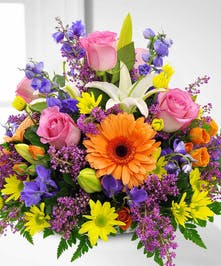 Variety of Summer Flowers Bouquet