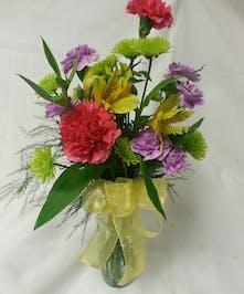 Sweet arrangement to brighten someone's day.
