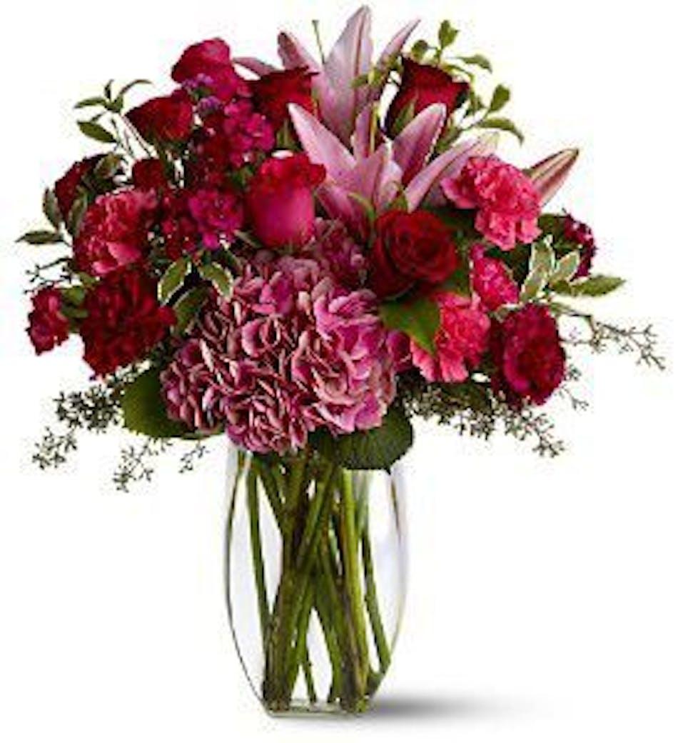 Burgundy Blush Floral Arrangement in Minneapolis, MN - Schaaf Floral