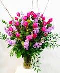 Rose & Stock Funeral Arrangement