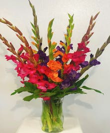 Summer Gladiolas Floral Arrangement