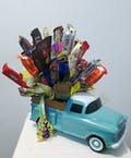 Chevy Truck Candy Bouquet