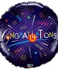 Congratulations Mylar Balloon