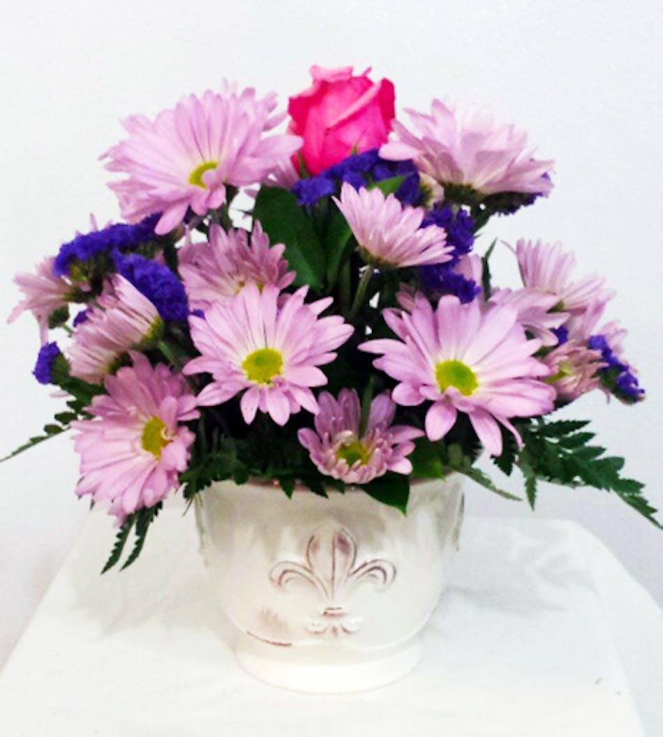 Daisy Sunshine Floral Arrangement In Minneapolis Mn Schaaf Floral