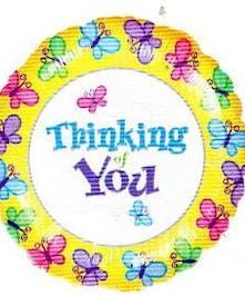 Thinking of You Mylar Balloon