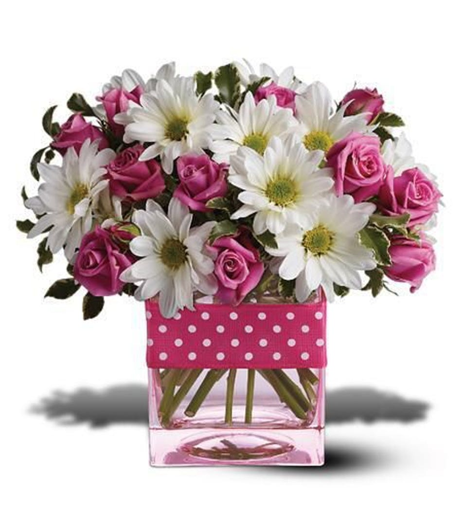 Pretty In Pink Floral Arrangement In Minneapolis Mn Schaaf Floral