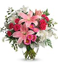 The Blushing Bouquet