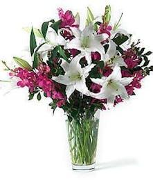 Lily & Orchid Floral Arrangement