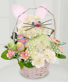Easter Bunny Hydrangea Arrangement