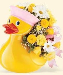Boy or Girl Duck Arrangement