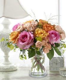 Garden Rose Floral Arrangement