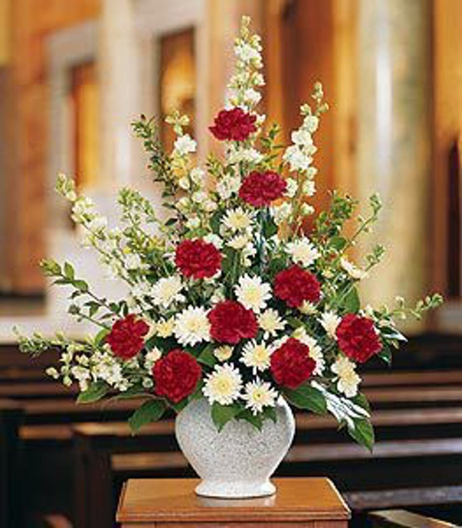 Vivid Sentiments Funeral Floral Arrangement In Minneapolis Mn
