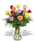 Dozen Mixed Roses