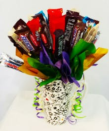 Cup Candy Bouquet