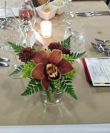 Cymbidium orchid Table Arrangement