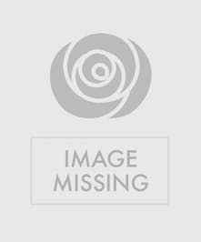 Blue and White Funeral Easel Spray