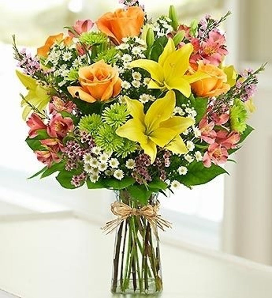 Garden Grandeur Mixed Floral Arrangement