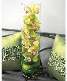 Cymbidium Orchid Floral Arrangement