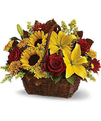 A Golden  Day Basket