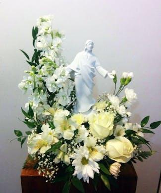 Jesus Floral Arrangement