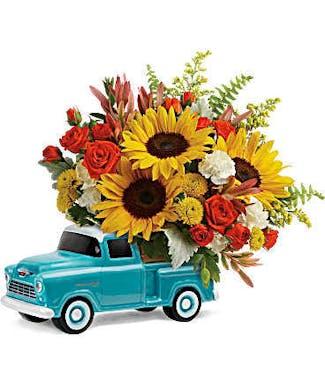 Schaaf's Chevy Truck Bouquet
