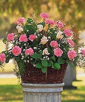 A Pink Reverence Arrangement